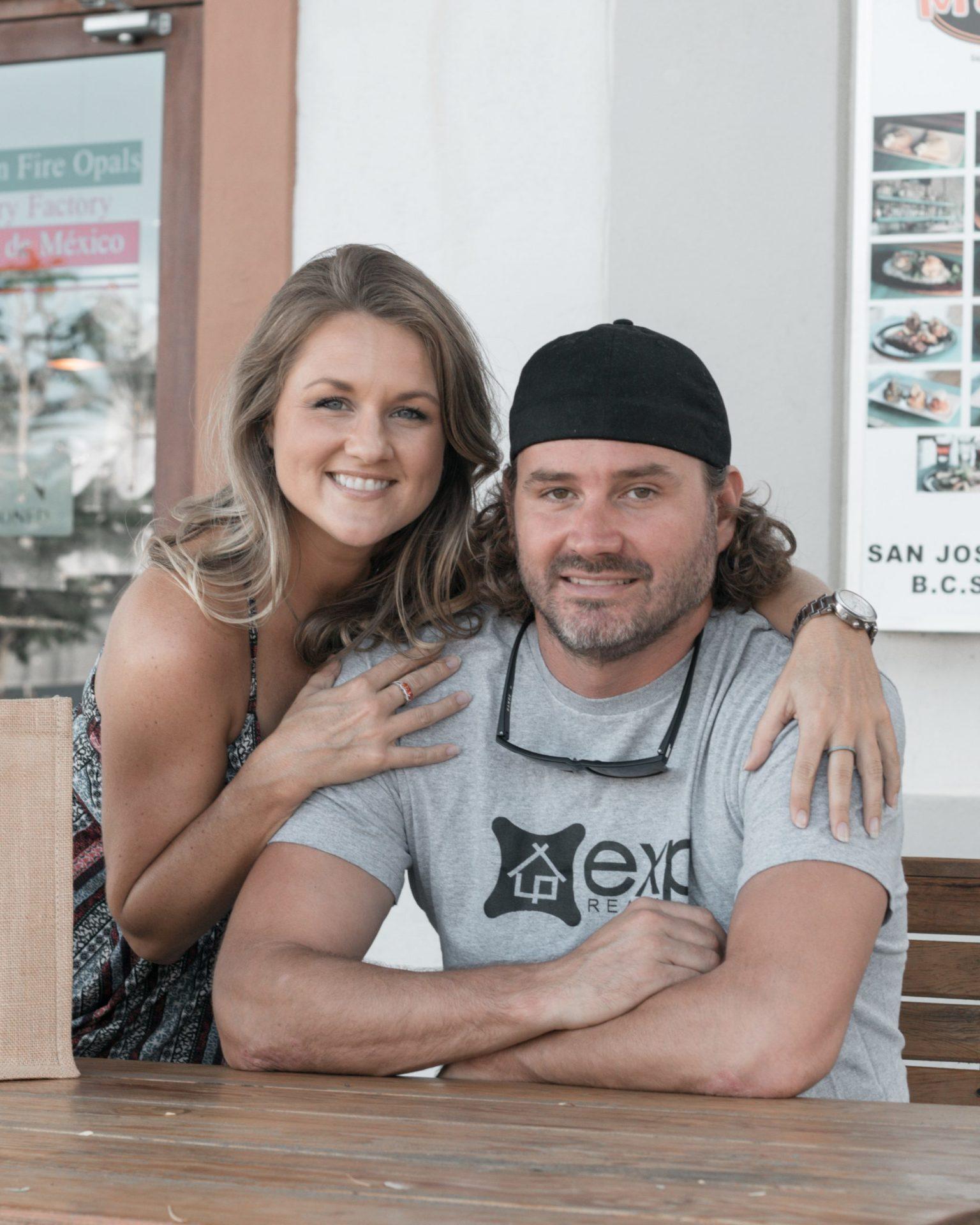 Amanda Williams and Alex Cowham from Carolina Furnished Rentals